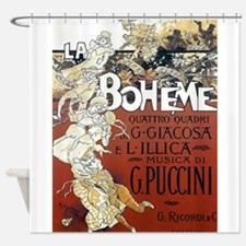 La Boheme Shower Curtain