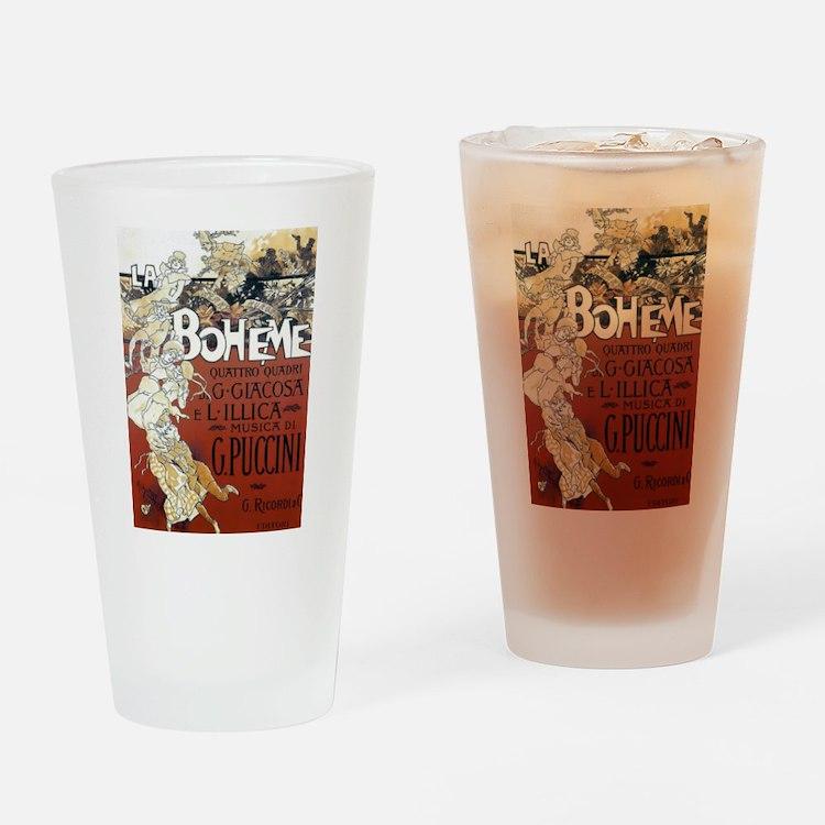 La Boheme Drinking Glass