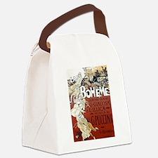 La Boheme Canvas Lunch Bag