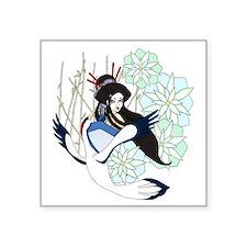 """""""Lotus Dreams"""" Square Sticker 3"""" x 3"""""""