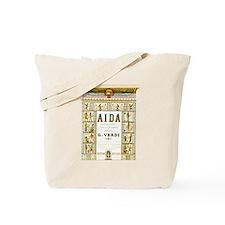 AIDA by G.Verdi Tote Bag