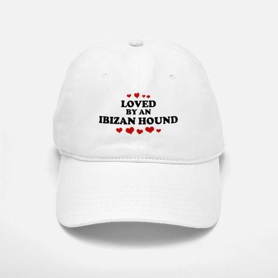 Loved: Ibizan Hound Baseball Baseball Cap