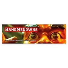 HandMeDowns - RedMan - Bumper Bumper Sticker