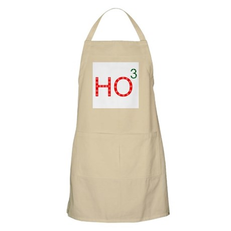 Ho To The Third Power BBQ Apron