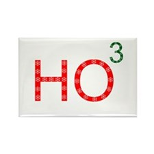 Ho To The Third Power Rectangle Magnet (100 pack)