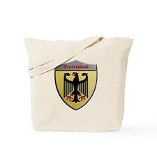Germany Metallic Shield Tote Bag