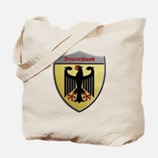 Germany Metallic Shield Tote Bag