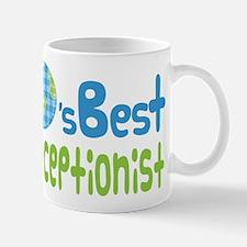 Earths Best Receptionist Mug