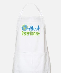 Earths Best Receptionist Apron