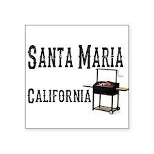 Santa Maria Style BBQ Sticker