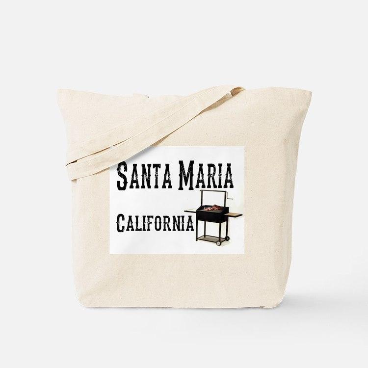 Santa Maria Style BBQ Tote Bag
