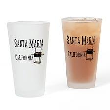 Santa Maria Style BBQ Drinking Glass