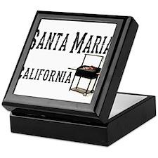 Santa Maria Style BBQ Keepsake Box