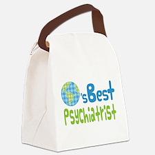 Earths Best Psychiatrist Canvas Lunch Bag