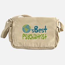 Earths Best Psychiatrist Messenger Bag