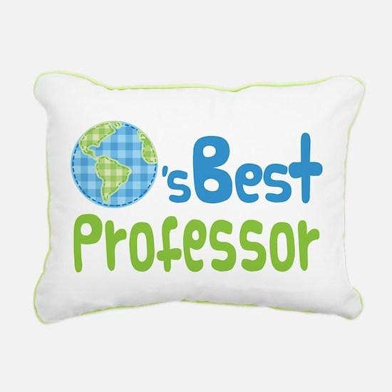 Earths Best Professor Rectangular Canvas Pillow