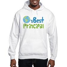Earths Best Principal Hoodie Sweatshirt