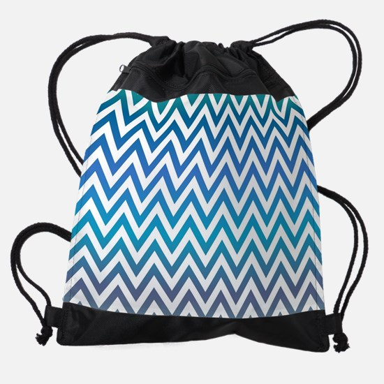 Cute Chevron Drawstring Bag