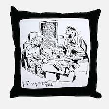 """Rob Shepperson """"Big Bird"""" Throw Pillow"""
