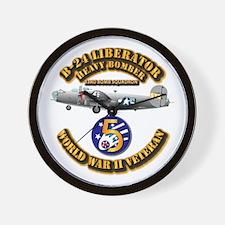 AAC - 22nd BG - 33rd BS - 5th AF Wall Clock