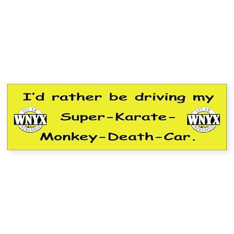 WNYX Sticker (Bumper)