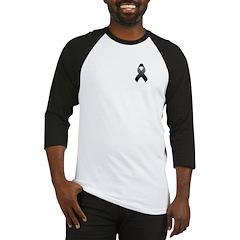 Black Awareness Ribbon Baseball Jersey