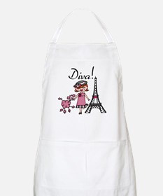 Red Haired Diva Apron