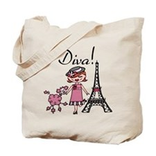 Red Haired Diva Tote Bag