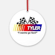 Racing - Tyler Ornament (Round)