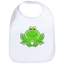 Cartoon Frog Bib
