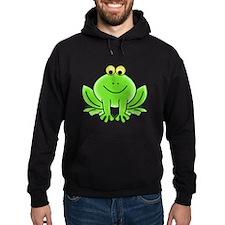 Cartoon Frog Hoodie