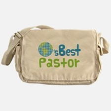 Earths Best Pastor Messenger Bag
