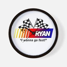 Racing - Ryan Wall Clock