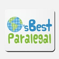 Earths Best Paralegal Mousepad