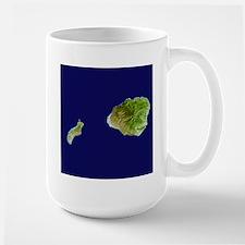 Kaua`i & Ni`ihau Landsat Mug