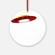 UFO Spaceship Ornament (Round)