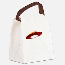UFO Spaceship Canvas Lunch Bag