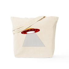 UFO Spaceship Tote Bag
