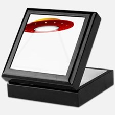 UFO Spaceship Keepsake Box