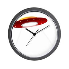 UFO Spaceship Wall Clock