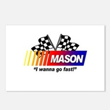 Racing - Mason Postcards (Package of 8)