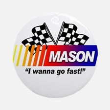 Racing - Mason Ornament (Round)