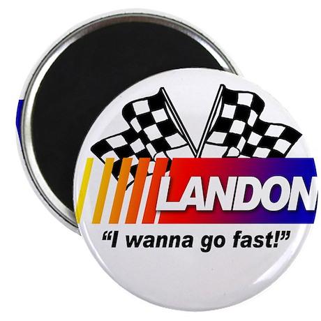 Racing - Landon Magnet