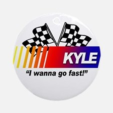 Racing - Kyle Ornament (Round)