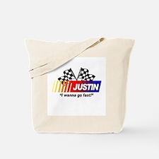 Racing - Justin Tote Bag