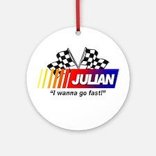 Racing - Julian Ornament (Round)