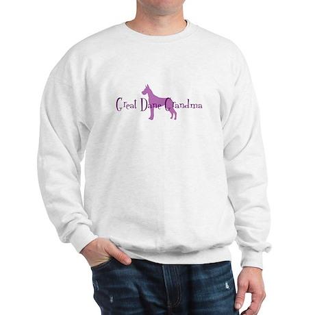 Great Dane Grandma Sweatshirt