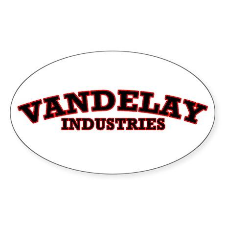 Vandelay Industries Oval Sticker