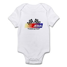 Racing - Jesus Infant Bodysuit