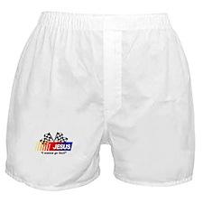 Racing - Jesus Boxer Shorts
